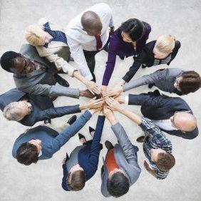 41399598 - team teamwork togetherness community connection concept